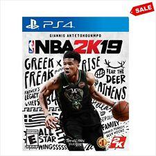 NBA 2K19 2K PS4 PlayStation 4 Basketball Kids Video Game Realistic Gamer Gaming