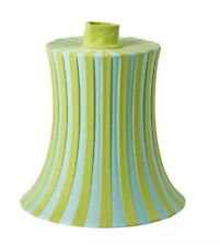 ATTRACTIVE IKEA ÄMTEVIK Lamp shade, blue, green striped 37 cm