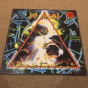 Def Leppard - Hysteria - Vinyl Record..