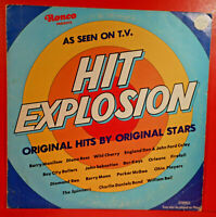 VARIOUS ARTISTS HIT EXPLOSION LP 1977 RONCO ORIGINAL GREAT CONDITION!  VG+/VG!!