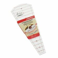 Sew Easy Dresden Template Ruler 8 X 3.5 Inch NL4159 Fro Patchwork Quilting