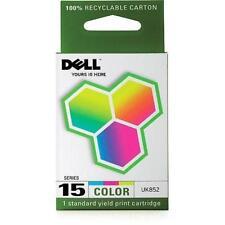 Dell Computer UK852 15 Standard Capacity Color Ink Cartridge for V105, sealed