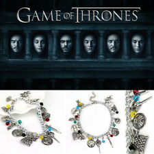 Free Shipping Game of thrones inspired charms bracelet