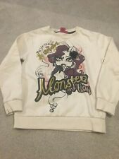 Girls Monsters Jumper Age 8/9