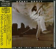 HENRY GROSS Plug Me Into Something CD JAPAN ONLY PCCY-10074 1990 Sha-na-na s5573