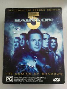 Babylon 5 The Complete Second Season - 6 disc set VGC