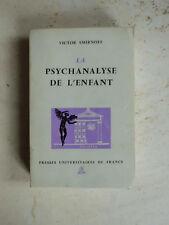 La psychanalyse de l'enfant Smirnoff (Victor)