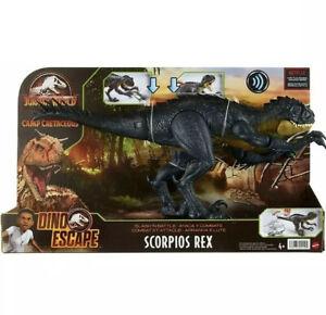 Jurassic World Slash N Battle Scorpios Rex Action Figure IN HAND ✅SHIPS FAST 🚚