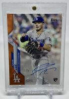 2020 Topps Clearly Authentic GAVIN LUX RC Rookie Orange Auto SSP #/5