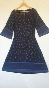 SIZE-L/14, BLUE ILLUSION Jersey Dress.