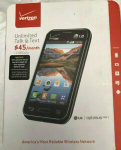 LG Optimus Zone 2 VS415PP - 4GB - Black (Verizon) Smartphone LTE PREPAY *NEW*