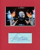 Keir Dullea 2001 A Space Odyssey Signed Autograph Photo Display W/ Gary Lockwood