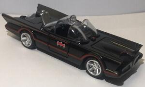 1:32 Diecast Model Car Classic TV Show Series Batman 1966 Batmobile Black No Box