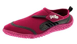 Yello Wetsuit Child Water Shoes - Pink Size 12/30/31 - Beach Aqua River & Pool