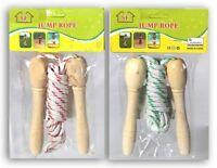 kids wooden skipping skipping rope girl boys gift Christmas gift stocking filler