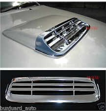 Toyota Hilux 2012+ Chromed 'Grille Style' Bonnet Air Scoop Hood Accessories Trim