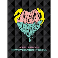 Korea Music 2NE1-2012 GLOBAL TOUR LIVE[NEW EVOLUTION IN SEOUL](2 DISC)(DVDMU190)