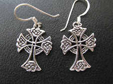 Croci celtiche ARGENTO 925er orringe siciliani Keltik/KA 764 o