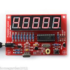 Digital LED 1Hz-50MHz Crystal Oscillator Frequency Counter Tester Meter DIY Kit