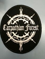CARPATHIAN FOREST Embroidered Patch IRON/SEW ON Black Metal