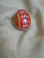"1pc. Ukrainian Painted Wooden Easter Eggs Ukraine  Pysanka Pysanky 2,4"""