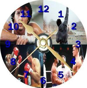 Rocky Balboa 1 Novelty Cd Clock Can be personalised