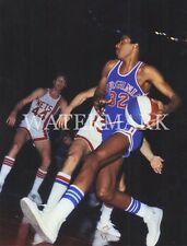 Julius Erving Dr.J Rookie Year Virginia Squires 8x10 Photo Basketball ABA NBA