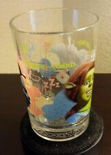 "McDONALD'S COLLECTOR GLASS - DREAMWORKS: SHREK THE THIRD - ""FAR FAR AWAY"""