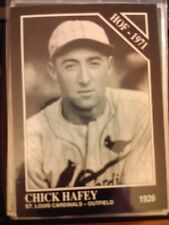 1991 The Sporting News Conlon Collection #33 Chick Hafey