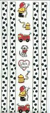 FIREMAN Fire Fighter Scrapbook Stickers and Border
