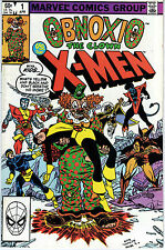OBNOXIO THE CLOWN VERSUS THE X-MEN #1 VERY FINE