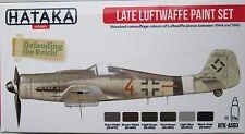 Hataka HTK-AS03 tarde Segunda Guerra Mundial conjunto de pintura de color Luftwaffe 6