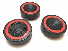Tripod Vibration Suppression Pads for Telescope or photo dampers - set of 3 pads