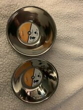 Set Of 2 OurPets Durapet Premium Stainless Steel Tilt-A-Bowl 3.5 Cp. Never Spill
