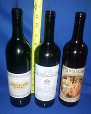 Rare Vtg Wine Bottle Lot - 1945 ROTHSCHILD-Musigny Grand Cru- HEIDSIECK MONOPOLE