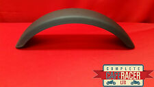 CRM5b STYLE CAFE RACER STAINLESS STEEL MUDGUARD - POWDER COATED MATTE BLACK