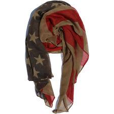 USA Flag Stylish Scarf Neck Warmer Cozy Cowl Comfortable Wrap Around