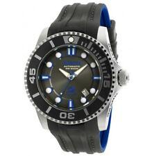 Invicta 20200 Men's Charcoal Dial Silicone Strap Automatic Watch