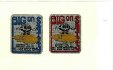 Nice Set Of 2 Safety Midwest Monterey Coal Co. Coal Mining Stickers # 1441