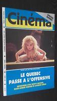 Revista Cinema Mars 1990 N º 465 El Quebec Paso DE Offensive Buen Estado