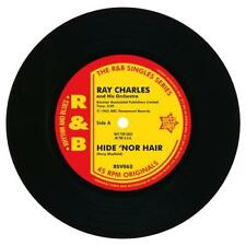 RAY CHARLES Hide 'Nor Hair / Unchain My Heart NEW R&B 45 SOUL MOD (OUTTA SIGHT)