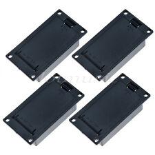 4 Pcs Active Guitar Bass Pickups Battery Holder/Case/Box no terminal screws