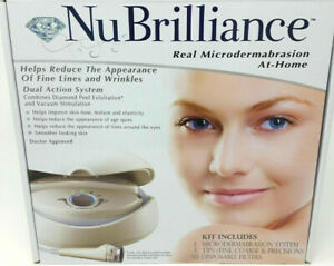 NuBrilliance Real Microdermabrasion At Home System - Tips & Filters Not Included