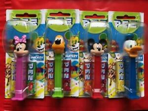Pez Dispenser Disney Mickey and Friends Various Characters MOC 2021