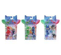 PJMasks 3x Light up Figure Packs Owlette, Luna Girl, Catboy, Romeo, Gekko, Ninja