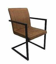 Designer Retro/ Industrial Comfy Arm Chair (2 for $320 CASH)