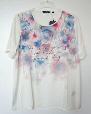 Camisas y tops de mujer de manga corta de poliéster talla XL
