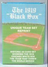 Chicago White Sox The 1919 Black Sox Team Set Reprint 25 Cards World Series TNTL