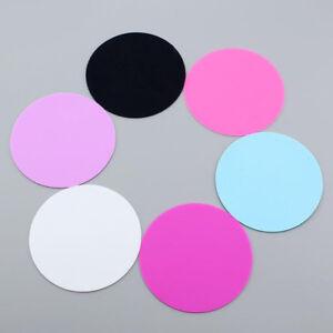 Nail Art Color Palette Mat Lid Acrylic Polish Holder Drawing Paint Dish Pad W