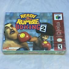Ready 2 Rumble Boxing: Round 2, Nintendo 64, 2000, Brand New